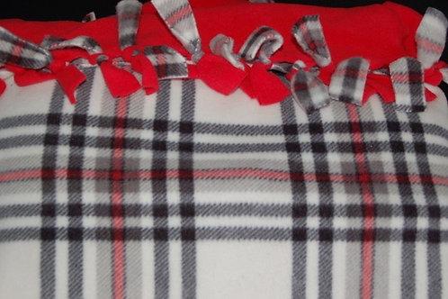 Fleece Blanket - Plaid