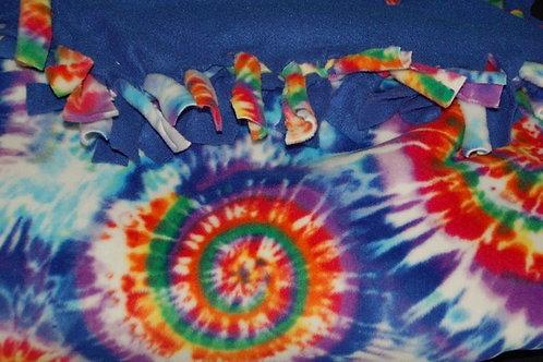 Fleece Blanket - Tie-Dye