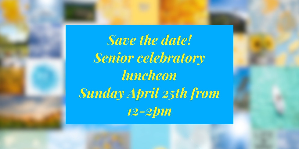 Senior Celebratory Luncheon