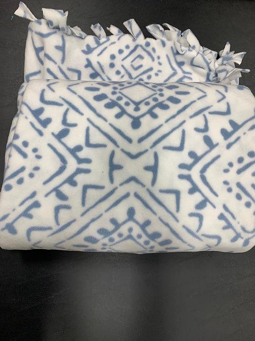 """""""Batik"""" patterned Fleece Blankets - click for full assortment!"""