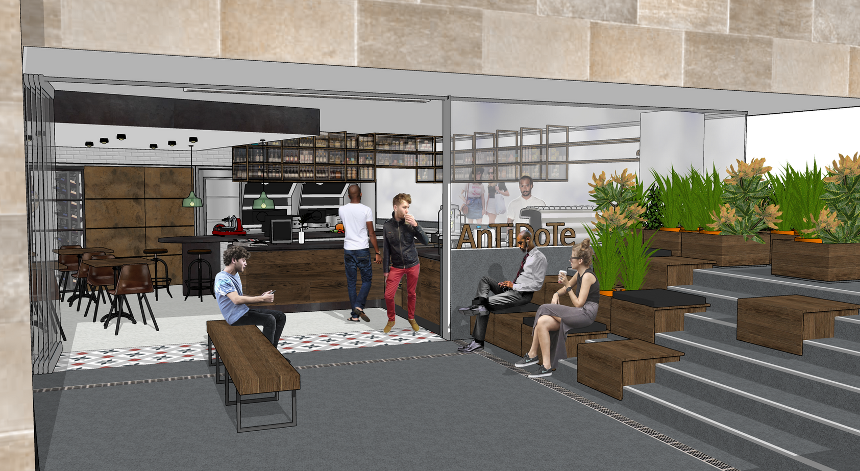 Antidote Café, Pyrmont NSW