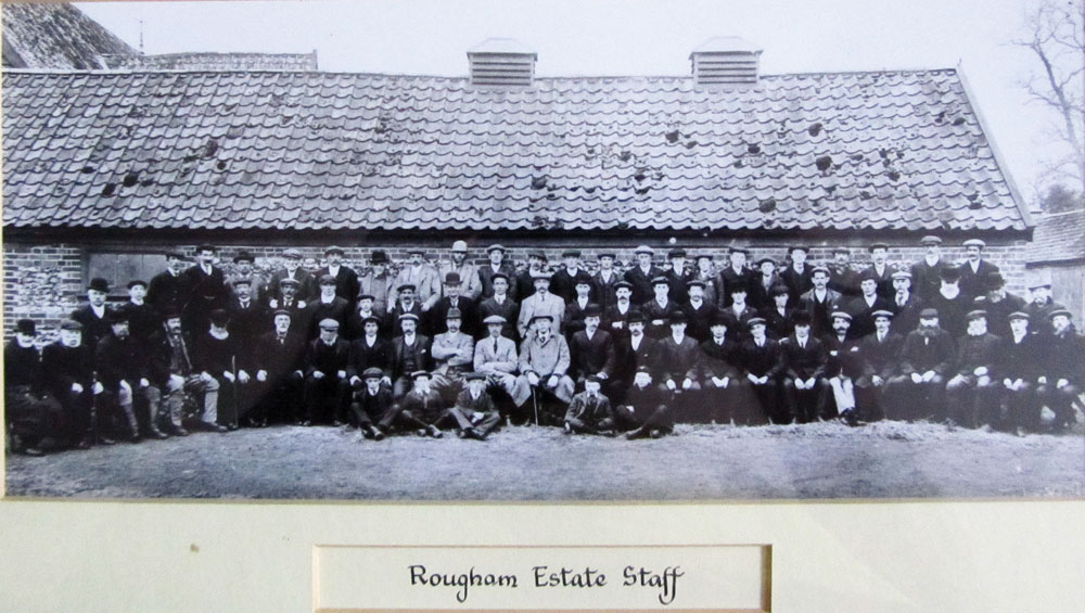 Rougham Estate Staff 1906