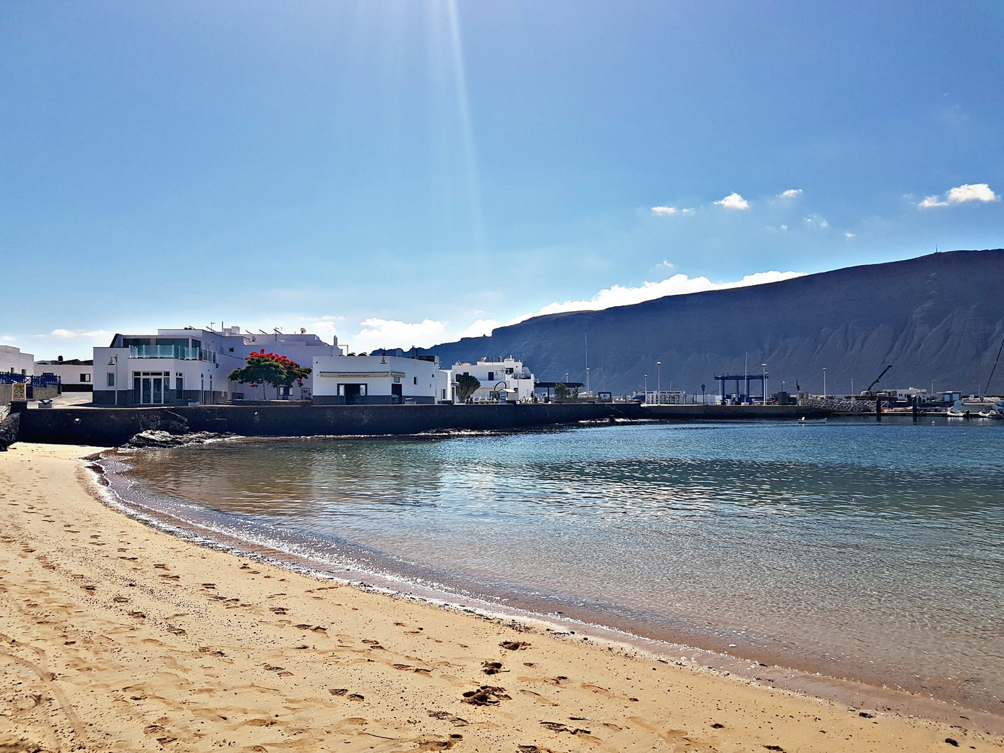 vista playa la graciosa