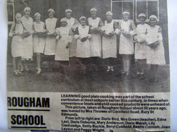 Cookery at Rougham School