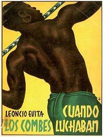 Cuando los combes luchaban, Leoncio Evita