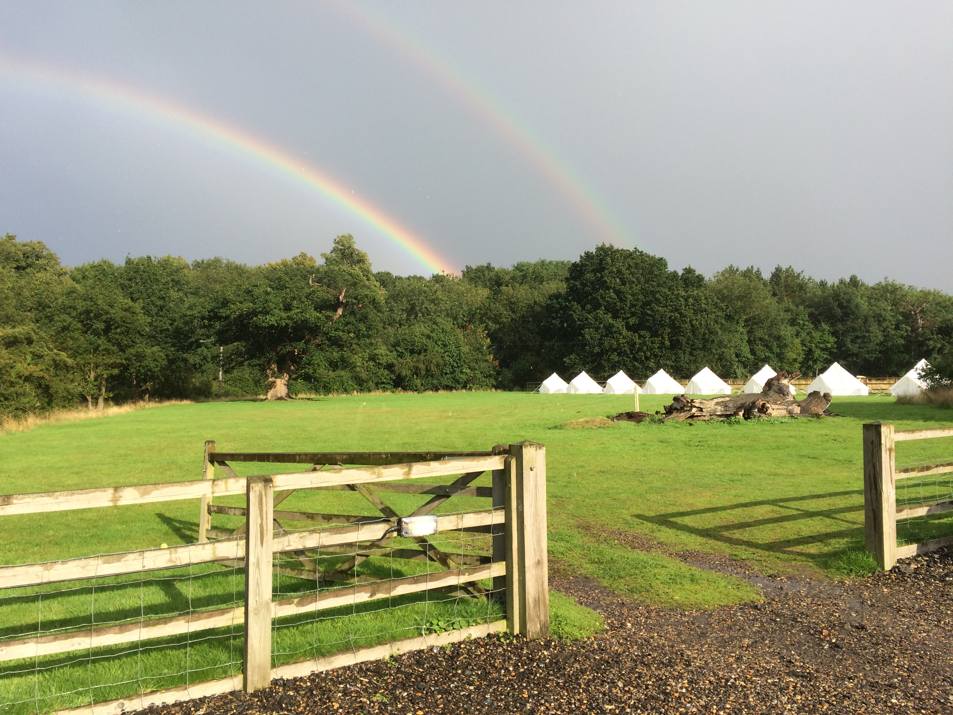 Rainbow over Rougham