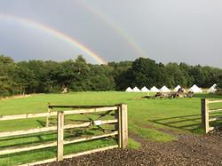 Rainbow over Rougham