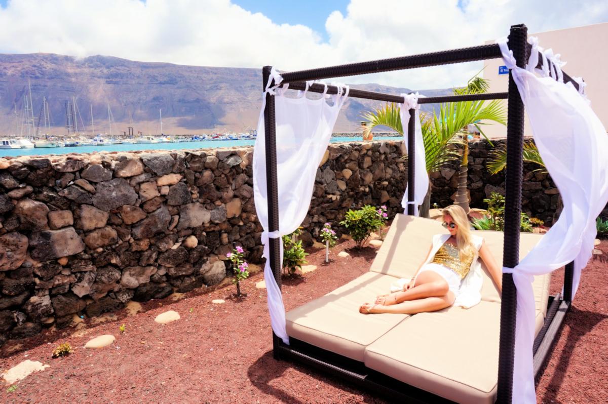 Cama Balinesa, uso exclusivo Suite.