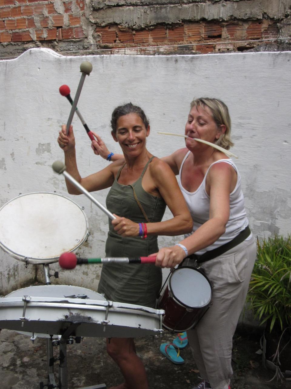 Atelier de percussion
