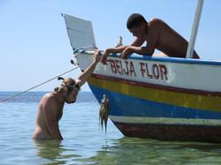 Rencontre avec le pêcheur de pieuvre