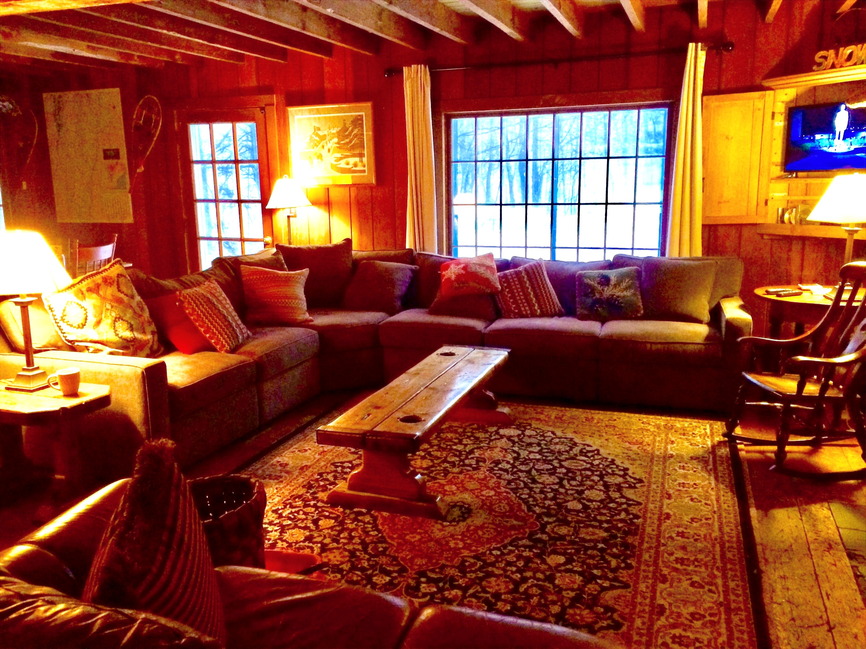The Lodge Living room
