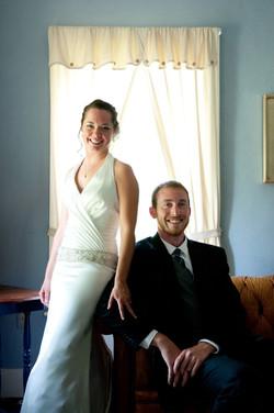 Wedding inside the Vermont 1828