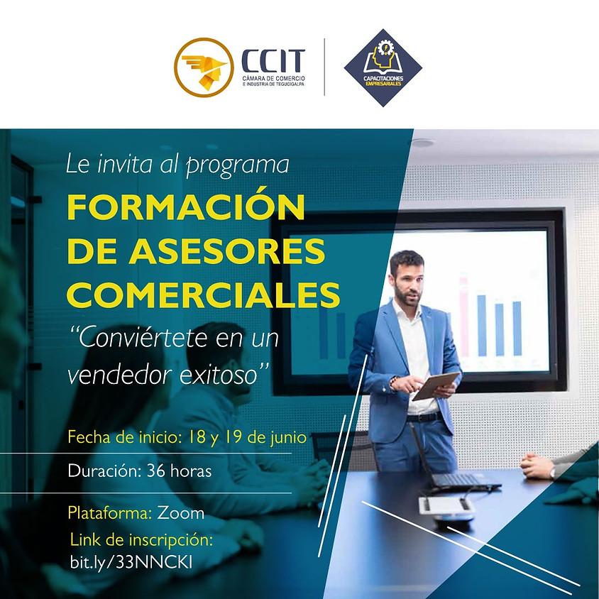 Programa Formación de Asesores Comerciales