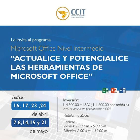 Programa: Microsoft Office Nivel Intermedio