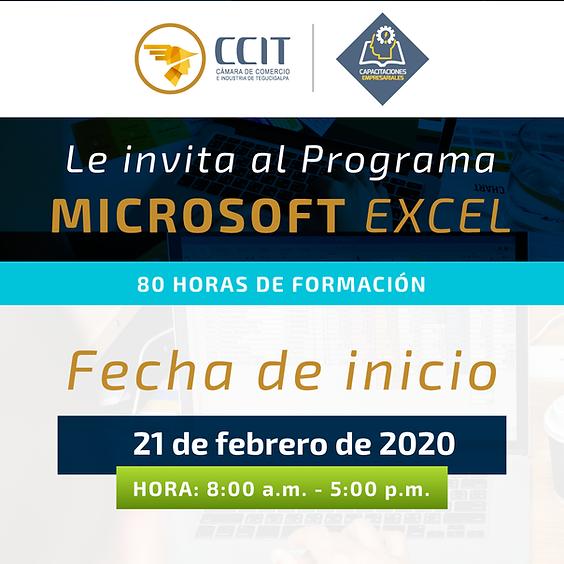 Programa Microsoft Excel