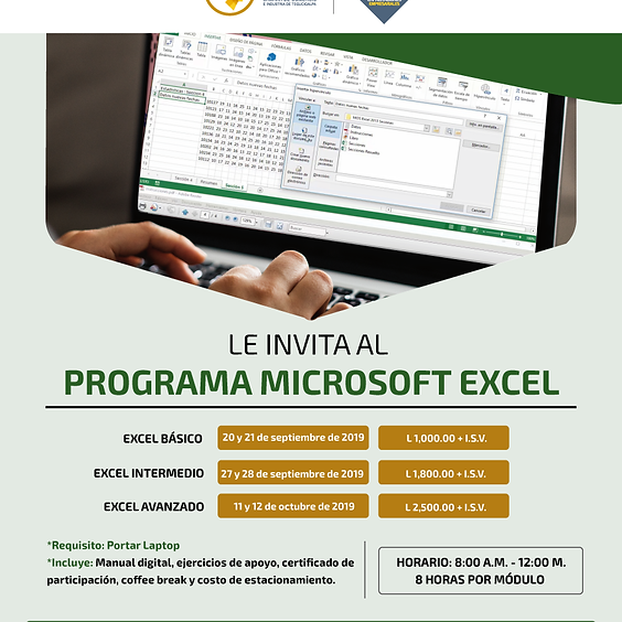 Programa de Microsoft Excel