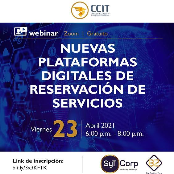 Nuevas Plataformas Digitales de Reservación de Servicios