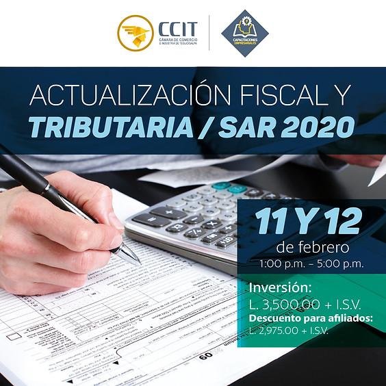 Actualización Fiscal y Tributaria/SAR 2020