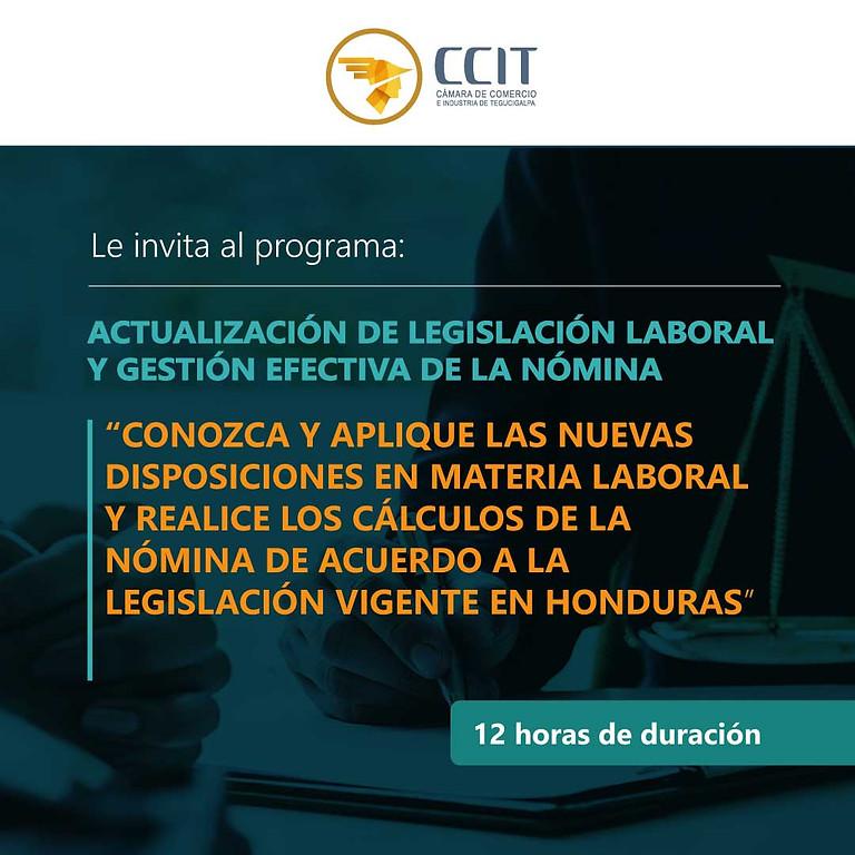 Actualización de Legislación Laboral y Gestión Efectiva de la Nómina