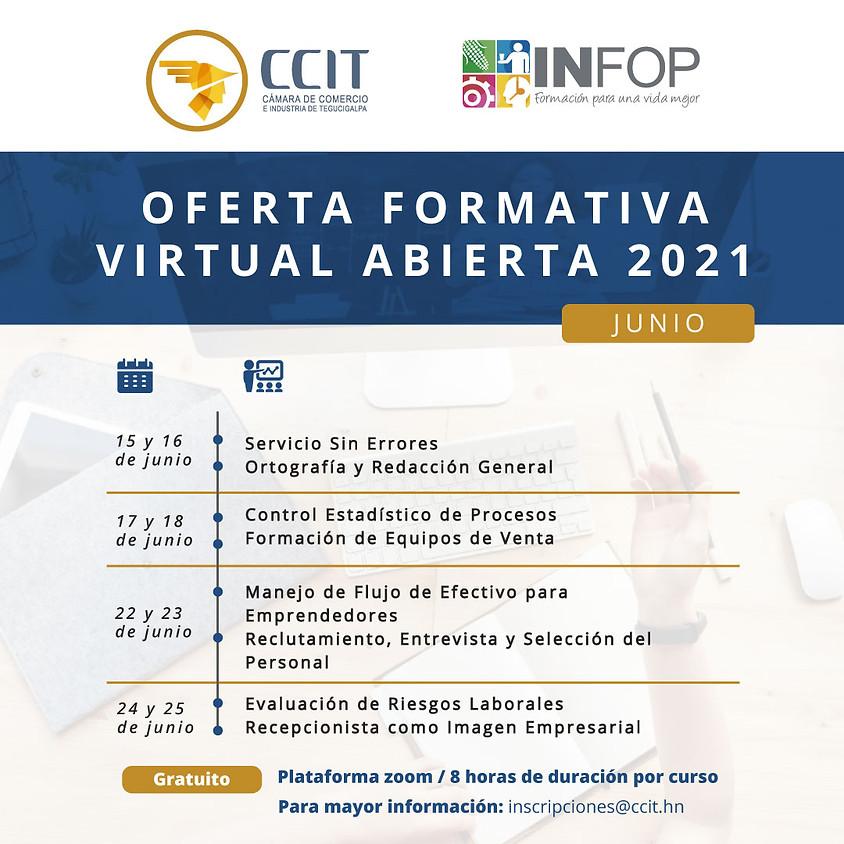 Oferta formativa virtual abierta - junio 2021