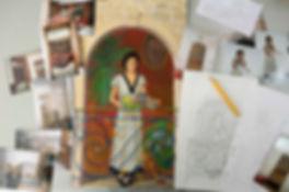 Peintre en décor Leonor-Rieti - Exemple peinture