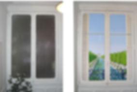 Fenêtre trompe l'oeil