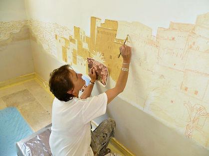 Léonor Rieti - Artiste peintre à Paris, artiste trompe l'oeil