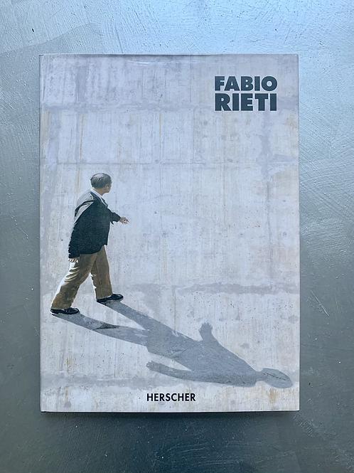 Livre Fabio Rieti : Peintures, textes et errances