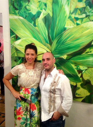 La Sala Art Gallery: Una fiesta de color en la Noche Blanca