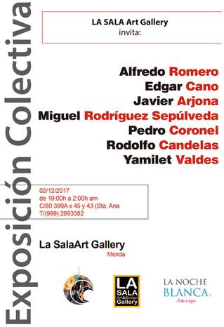 Exposición Colectiva, Noche Blanca