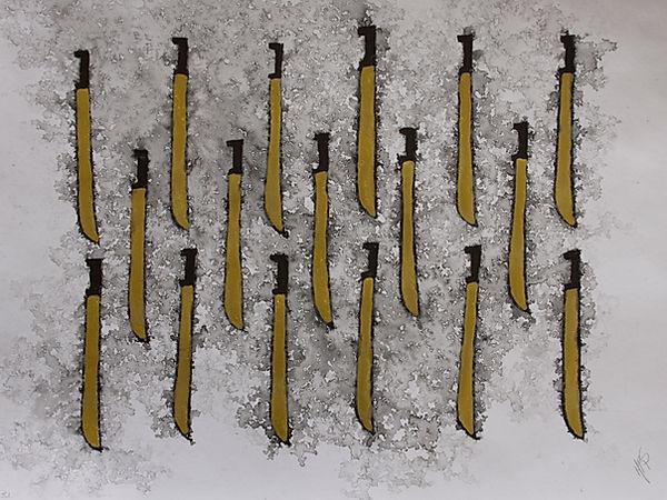 Estudio Boceto para Instrumento - machet