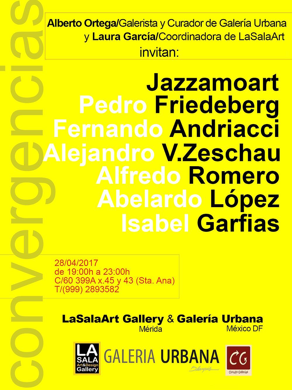 Art exhibition in Merida
