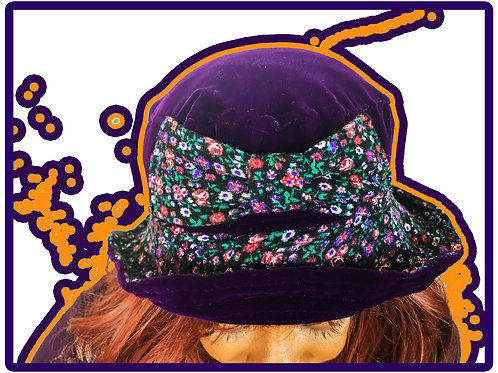 "RECONCRI ""MOE BOW"" BUCKET HAT (ONE SIZE)"