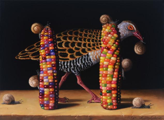Arriving of Seven Snails