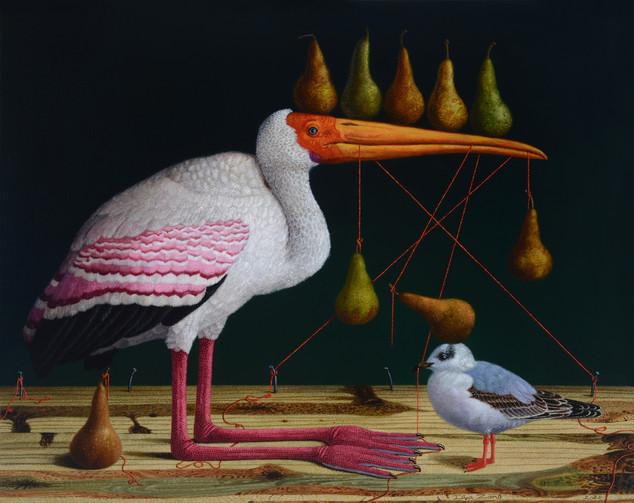 Birds' Hubbub: Pears