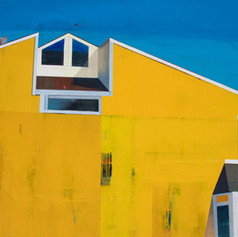 A Yellow House and a Sunny Day