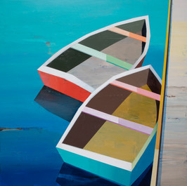 Boats in the Shallow Water #29