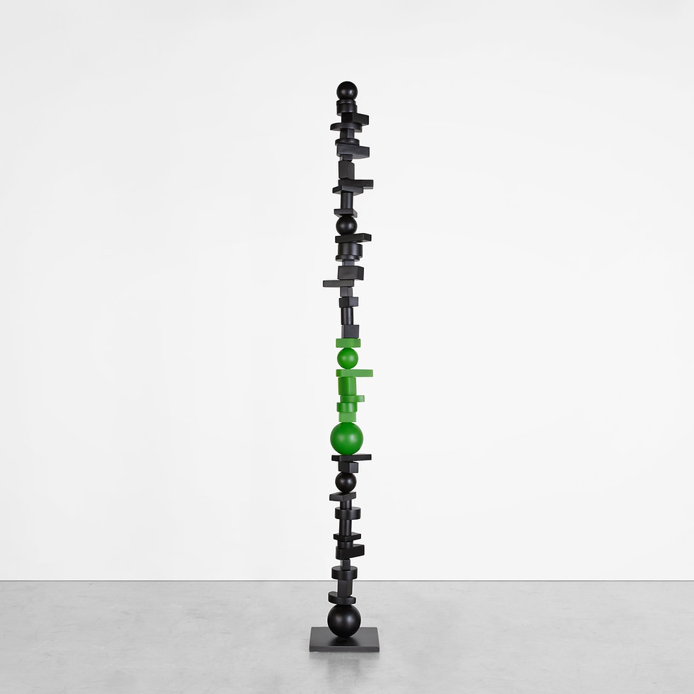 Black and Green Totem