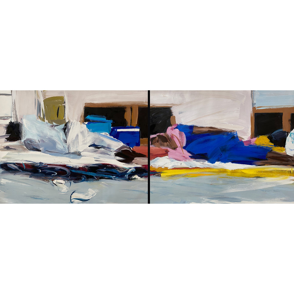 They are Here (Diptych)