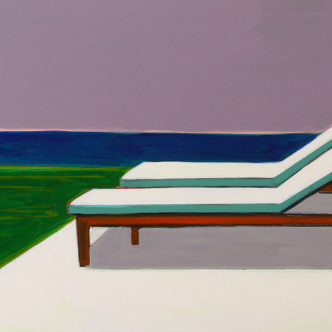 Two Chaises with Ocean View