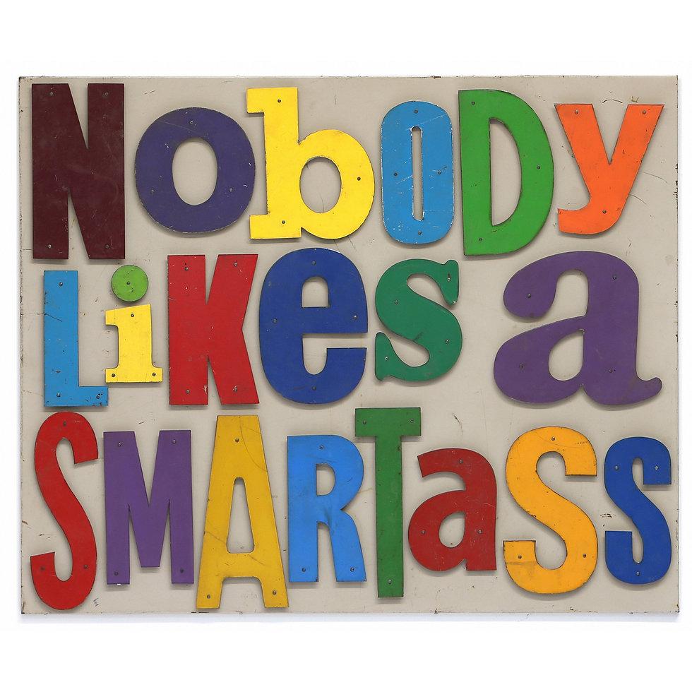 Nobody Likes a Smartass