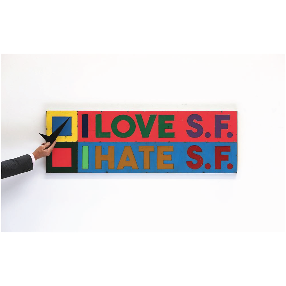 I Love to Hate S.F.   SOLD