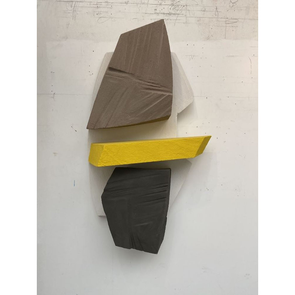 Untitled Brown & Yellow, 2021