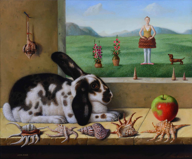 The Rabbit and an Apple