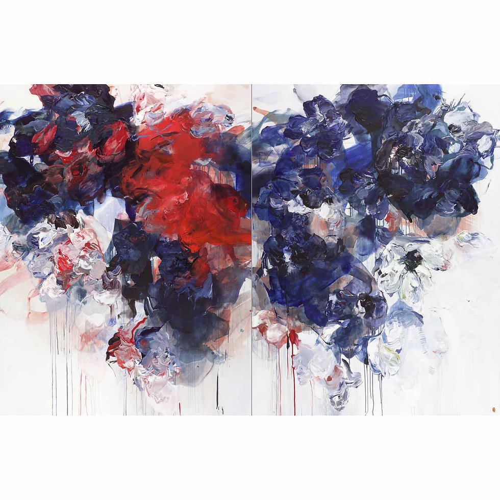 Gravitational Pull (Diptych) | SOLD