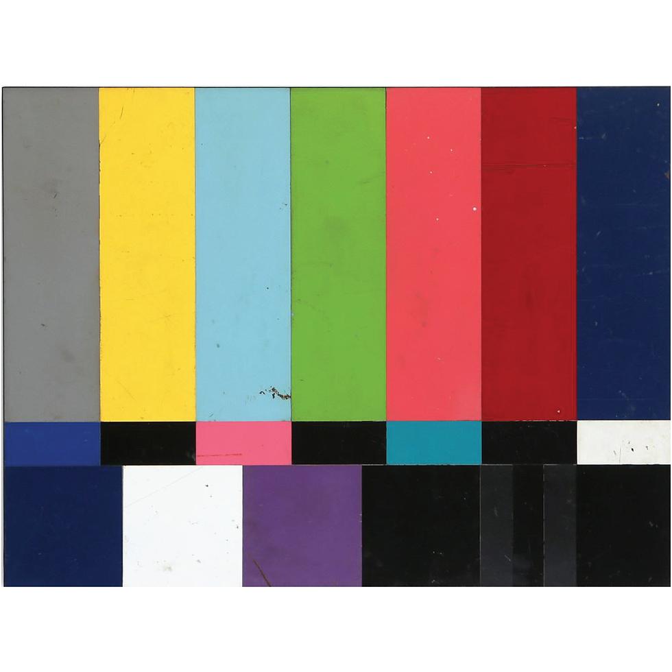 TV Color Bars   SOLD