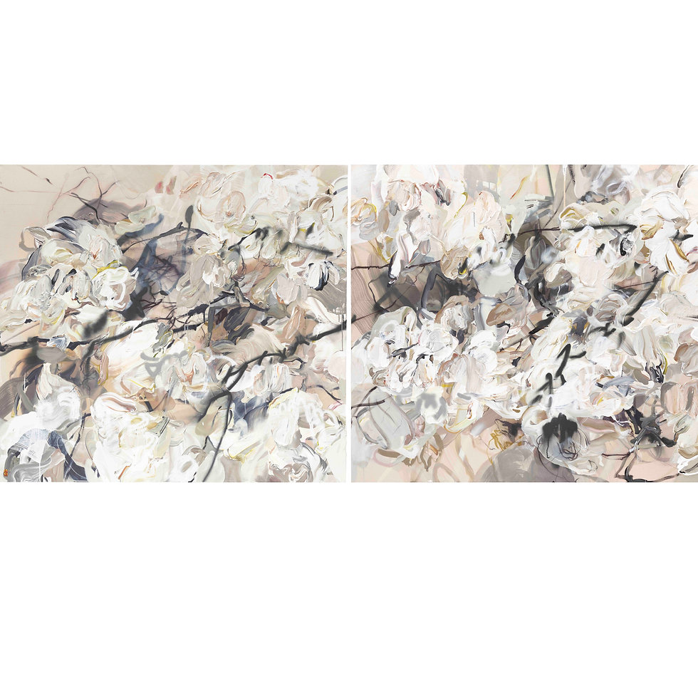 Windfall #1 (diptych) | SOLD