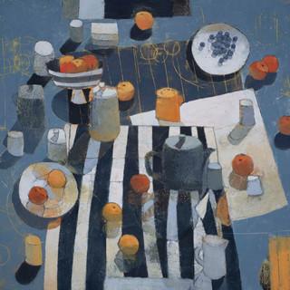 Across A Grey Table