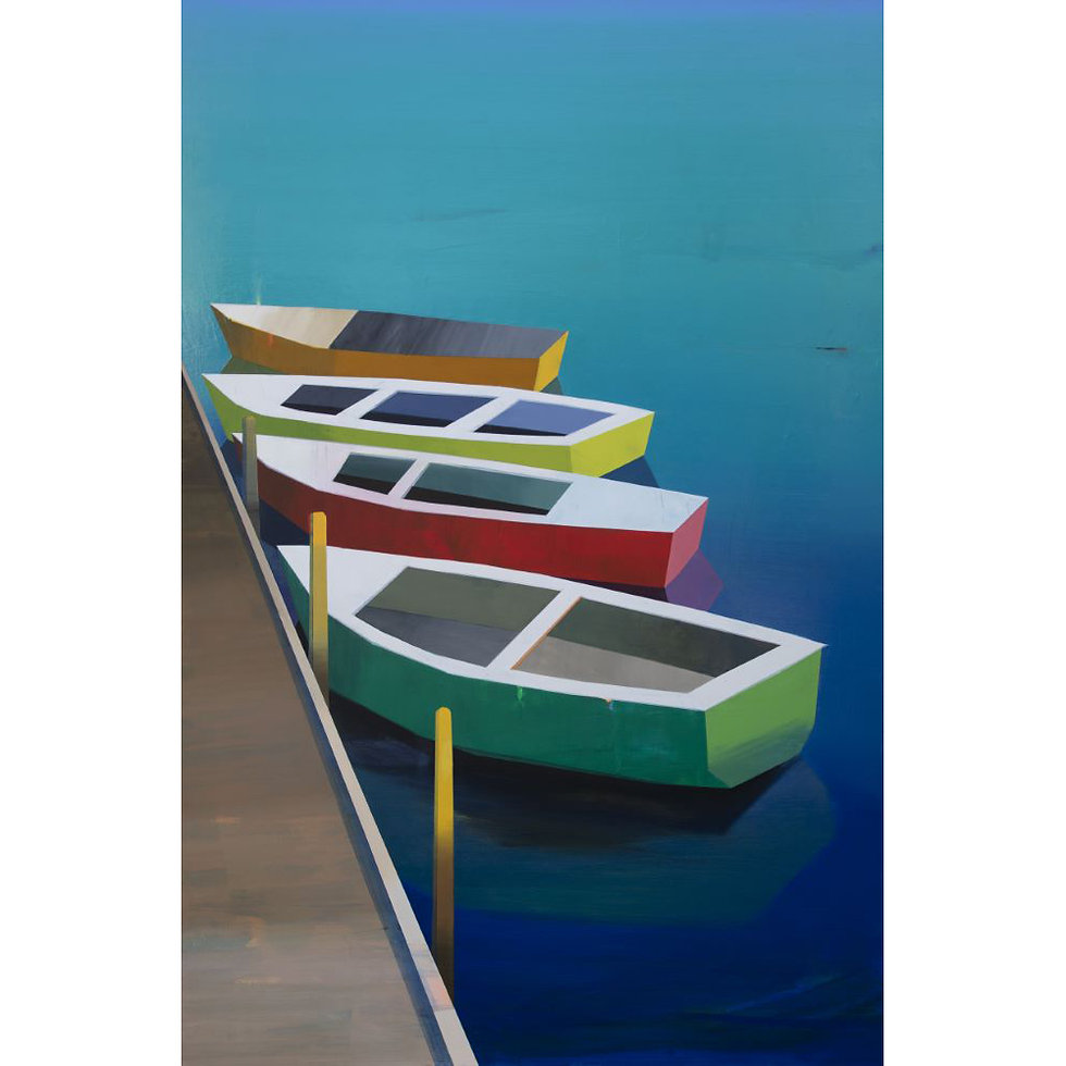 Boats in the Lake #5