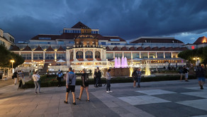 "Wakacje Sopot 3 - Grand Hotel, Molo, Parasolnik, ""Monciak""."